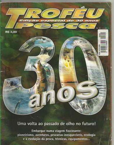 revista troféu pesca n.246 - frete grátis