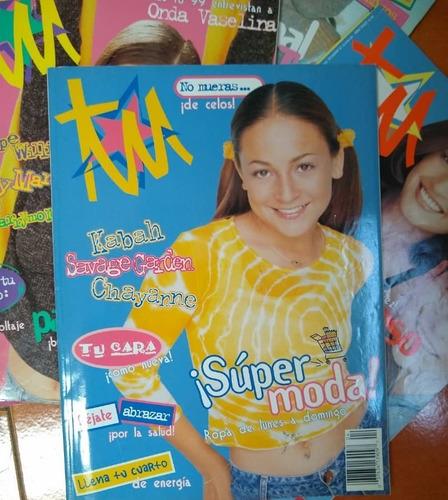 revista tu de coleccion  años 98/99 impecables