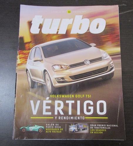 revista turbo volkswagen golf  oct 16 t1