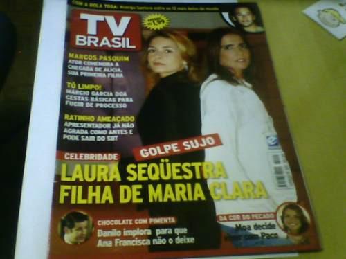 revista tv brasil nº223 celebridade chocolate com pimenta