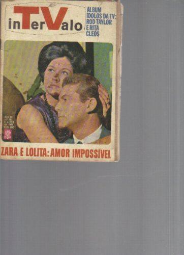 revista tv intervalo n 161 - ano i v - 6 a 12 de fev -1966