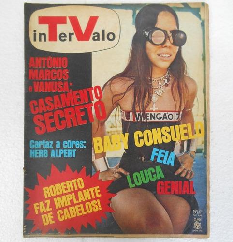 revista tv intervalo nº 397 baby consuelo