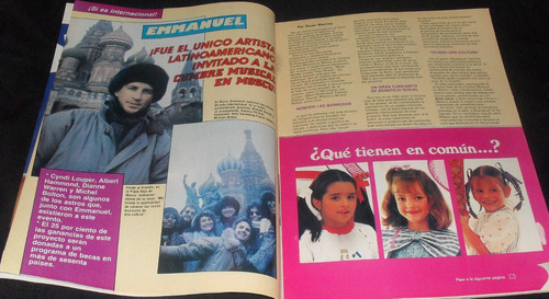 revista tv y novelas thalia lucia mendez enmanuel