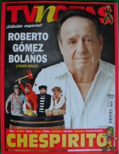revista tvynovelas chespirito edicion especial