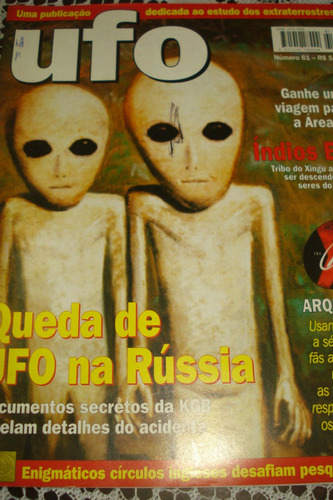 revista ufo número 61
