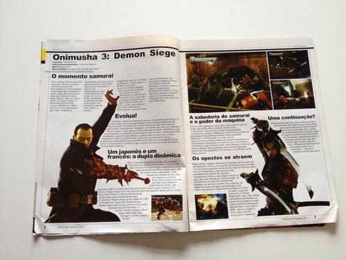revista ultra jovem especial beyblade onimusha 3 n°30