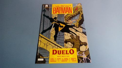 revista um conto de batman - parte um duelo
