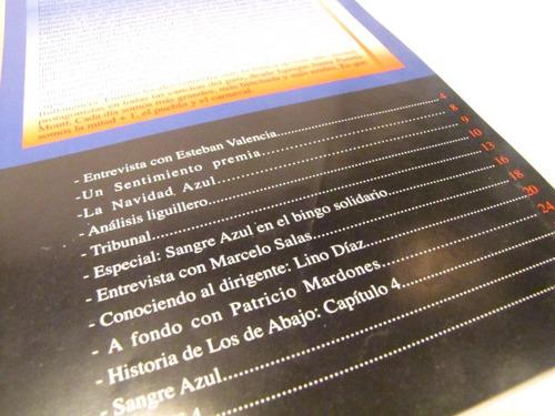 revista universidad de chile, un sentimiento, 1999.
