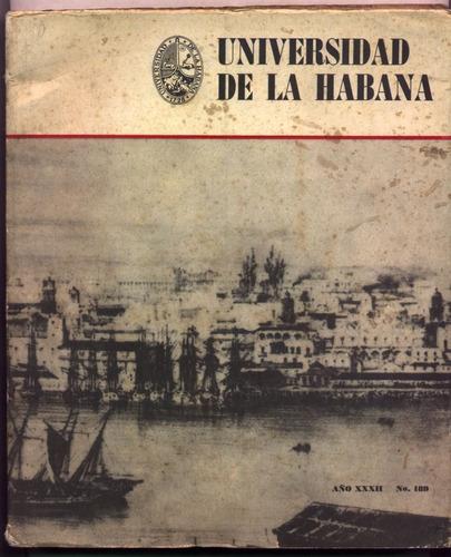revista universidad de la habana. (cuba, educación)