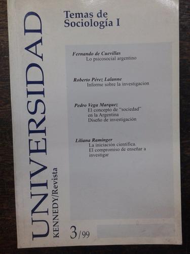 revista universidad kennedy nº 3 * temas de sociologia 1 *