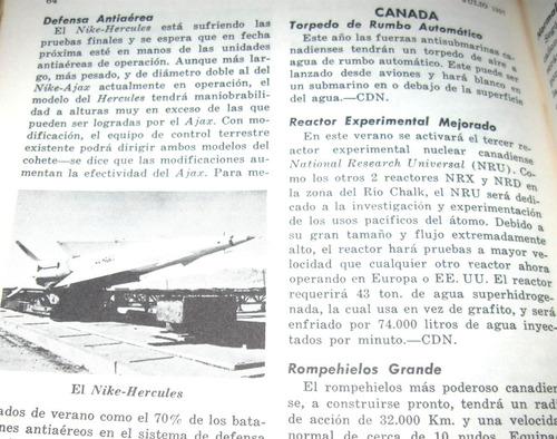 revista us army 1957 campaña israelì en sinai