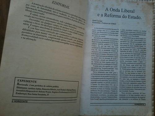 revista usada horizonte no. 2 - cultura x politica