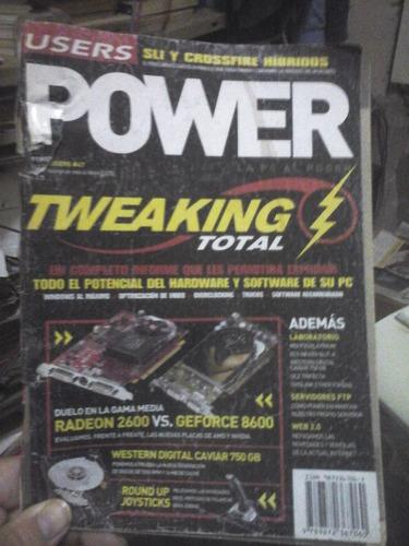 revista users power #47