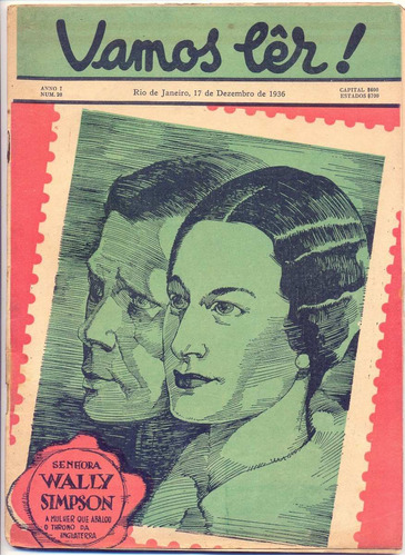 revista vamos lêr nº 20! 17  dez 1936!