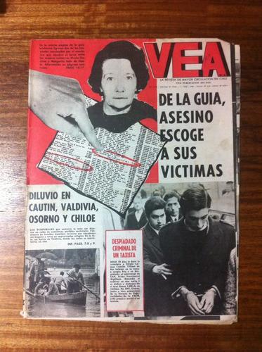 revista vea nº1575-7 ago 1969- sino de los kennedy