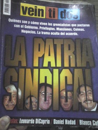 revista veintidos - año 2 - n° 85 - 24/02/2000