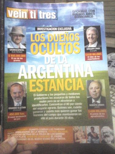 revista veintitres - año 10 - n°509 - 10/04/2008