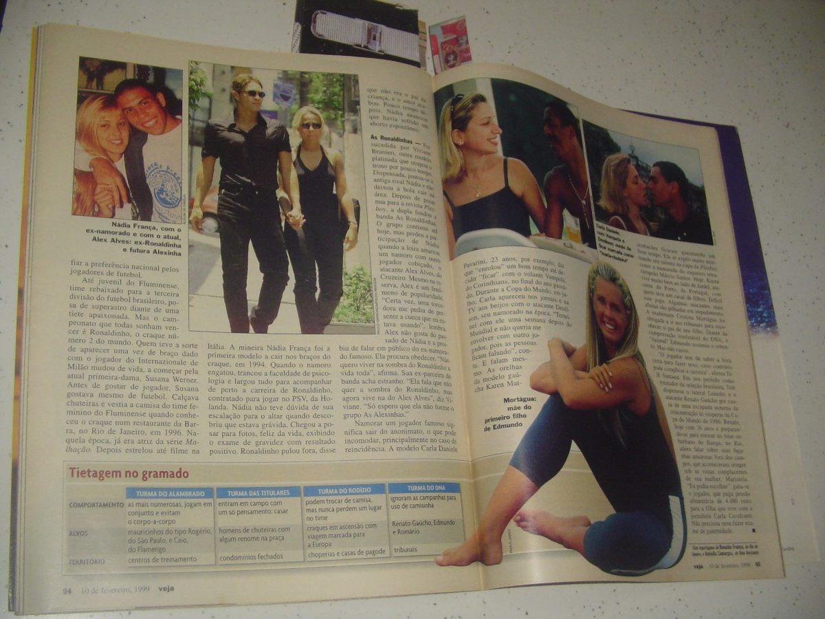 Revista Veja 1584 Spiller Gimenez Werner Scheila Evans 1999 - R  46 ... db918523b7