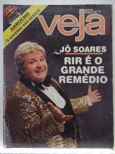 revista veja ano 20  #10 9 março 1988 jô soares
