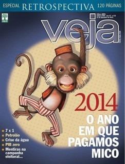 revista veja edição 2406 numero 53- 31/12/2014