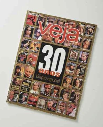 revista veja # edição especial 30 anos (usada)