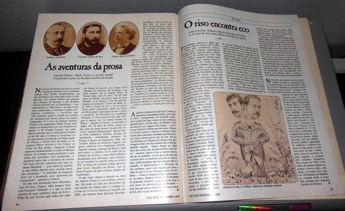 revista veja edição especial república - 1989