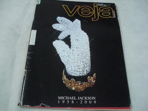 revista veja - michael jackson - julho/2009