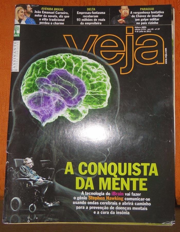 6846d4961b Revista Veja Nº 2276 Conquista Ment 04 07 2012 Homem Aranha - R  12 ...