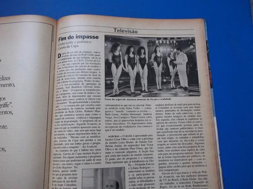 revista veja o descrédito dos políticos  nr44 nov  1988 tião