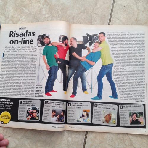 revista veja rio 12/9/2012 a festa das artes artrio