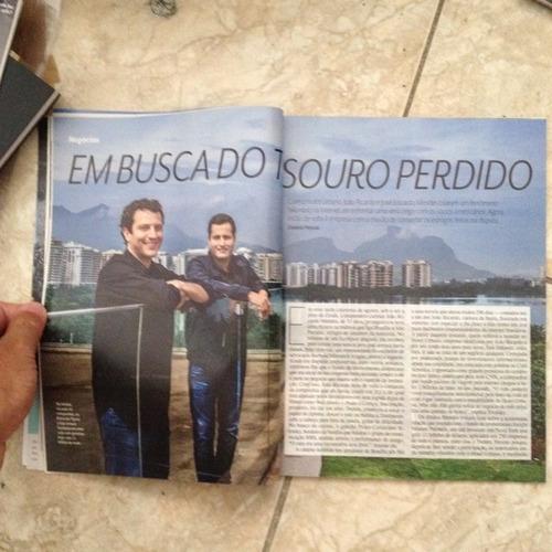 revista veja rio 30/11/2016 fundadores do hotel urbano