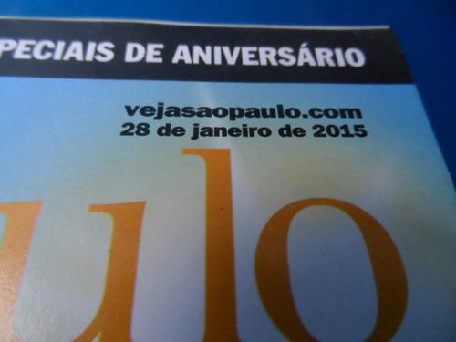 revista veja s paulo- 28 jan 2015 guia do verão borba gato