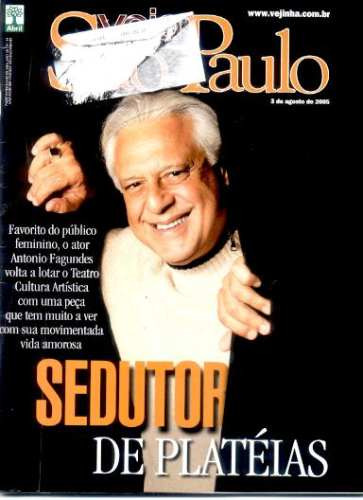 revista veja sp: antonio fagundes / banda cake / john mccrea