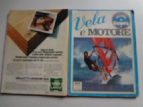 revista vela e motore novembro de 1978 italiana