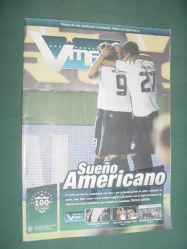 revista velez magazine 22 club velez sarsfield 2/10 futbol