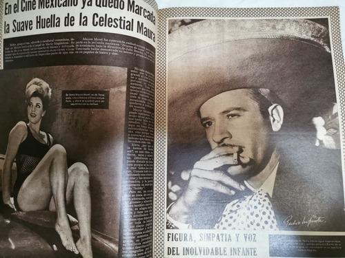 revista venus evangelina elizondo y pedro infante año 1965