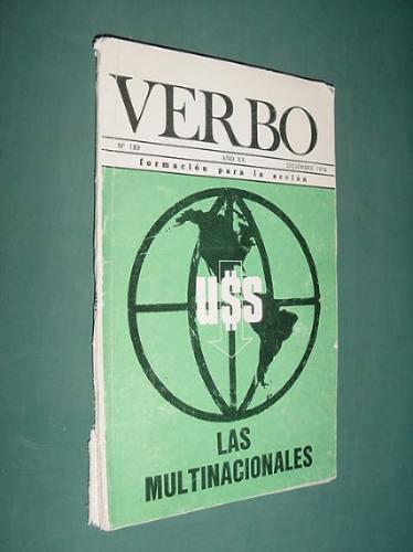 revista verbo 189 dic78 crepusculo de monarquia nicaragua