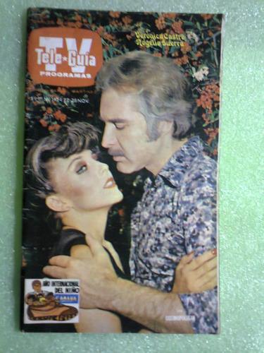 revista verónica castro los ricos también lloran méxico 1979