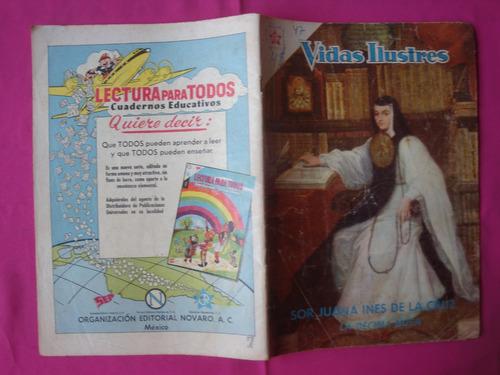 revista vidas ilustres nº 47, editorial novaro 1959