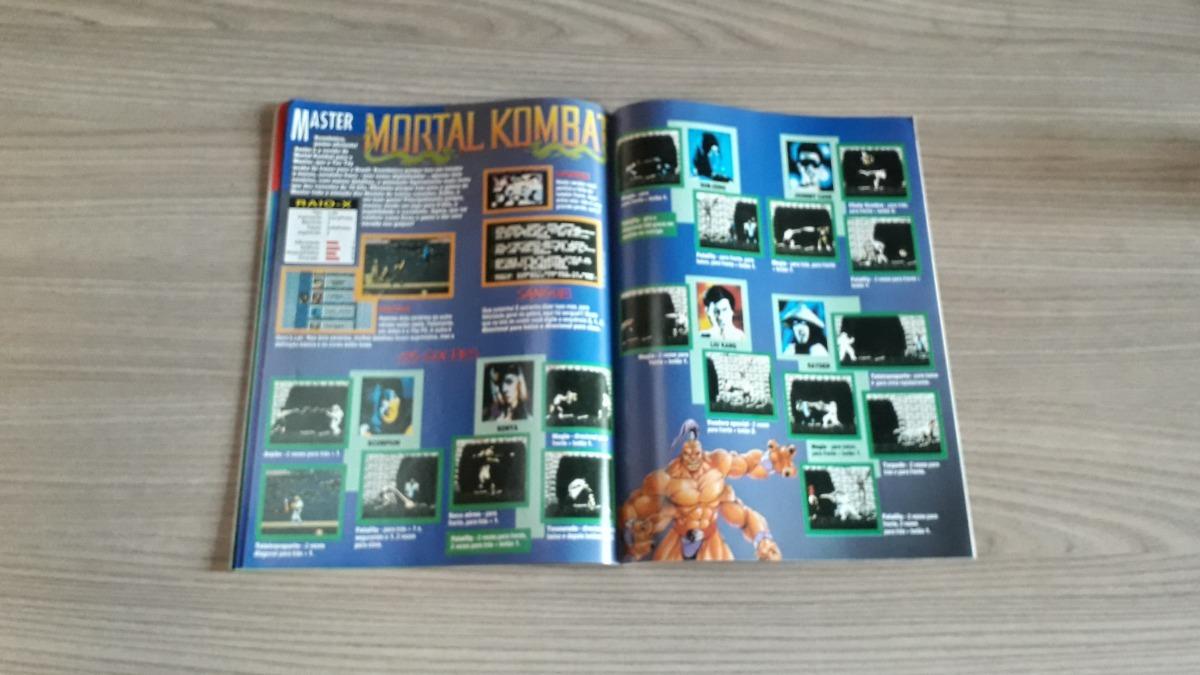 Revista Video Game News 33 Mk Aladdin A327