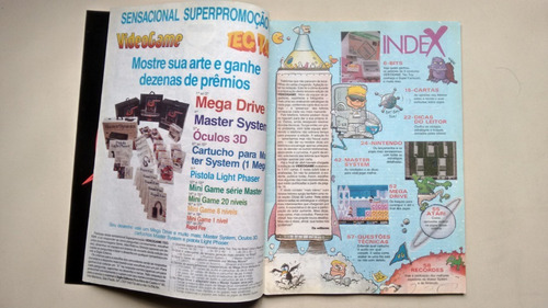 revista videogame 3 dragons lair master system 2 e186