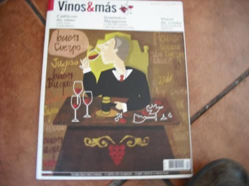 revista vinos & mas  periodo sept.octubre (497