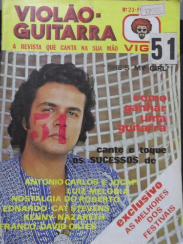 revista violão e guitarra nº 23 as melhores dos festivais