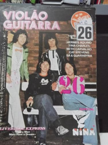 revista violão e guitarra nº 39  cat stevens  sa e guarabira