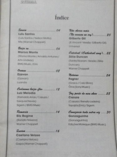 revista violão e guitarra nº djavan elis marisa monte cazuza
