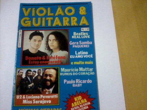 revista violão & guitarra nº235 donato & estéfano u2 luciano