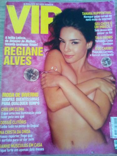 revista vip julho 2002 - regiane alves
