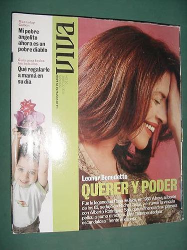 revista viva 10/10/04 leonor benedetto macaulay culkin