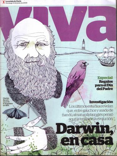 revista viva | 14/06/2009 | darwin en casa