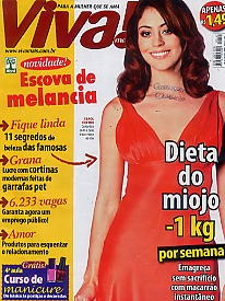 revista viva: carol castro / de abril de 2008